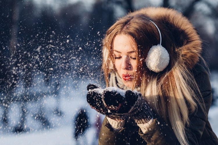 Winter-woman
